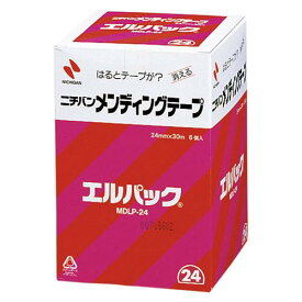 【まとめ買い10個セット品】メンディングテープ エルパック[TM](お得用包装)(大巻)巻芯径76mm MDLP-24 6巻 ニチバン【 事務用品 貼 切用品 メンディングテープ 】