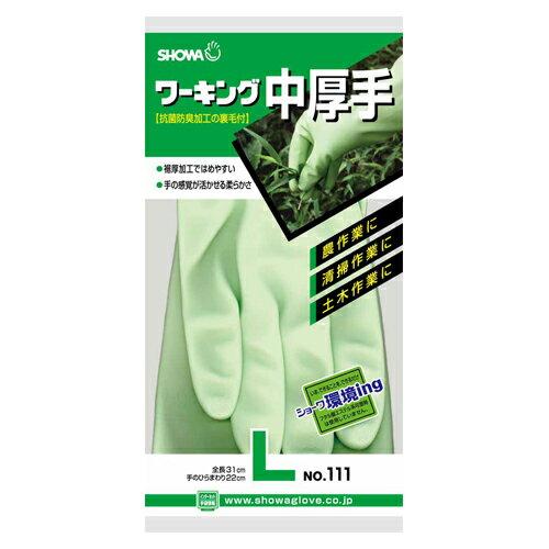 【まとめ買い10個セット品】ワーキング中厚手 154026-09-16 グリーン 1双 ショーワ