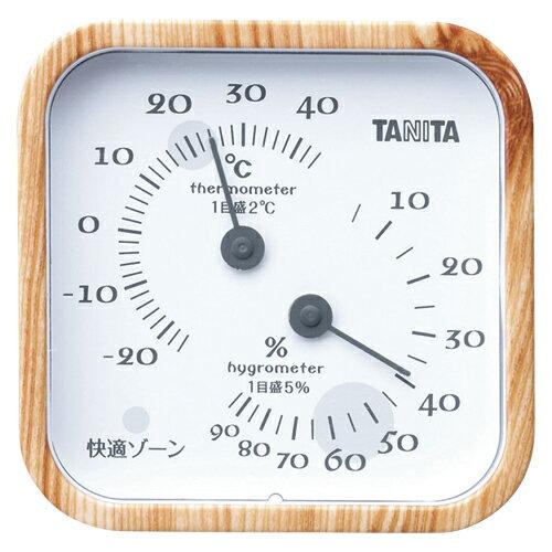 【まとめ買い10個セット品】温湿度計 TT-570NA ナチュラル 1個 タニタ