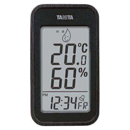 【まとめ買い10個セット品】デジタル温湿度計 TT-572BK ブラック 1個 タニタ