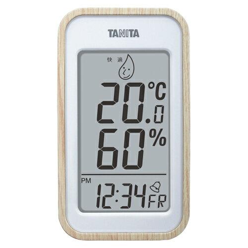 【まとめ買い10個セット品】デジタル温湿度計 TT-572NA ナチュラル 1個 タニタ
