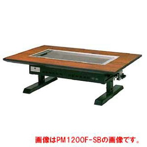 お好み焼きテーブル 9mm鉄板 2人掛 スチール脚和卓 850×800×330 都市ガス(12A・13A)【 メーカー直送/後払い決済不可 】