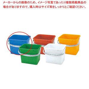 PP 角型 バケツ WP-150B(青)【 清掃・衛生用品 】