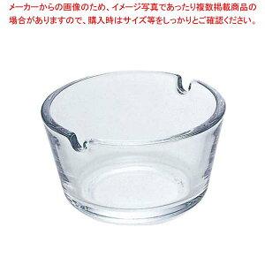 ガラス フィナール 灰皿 クリア P-05581-JAN【 卓上小物 】