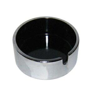 【まとめ買い10個セット品】 エプソン 灰皿 ミニ ブラック(φ75×H32)【 灰皿 アシュトレイ 業務用 】