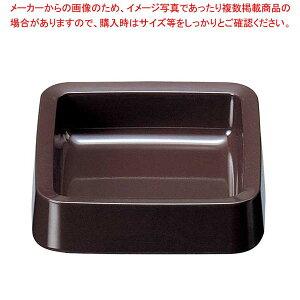【まとめ買い10個セット品】 角灰皿 DX DH-61 ダークブラウン【 卓上小物 】