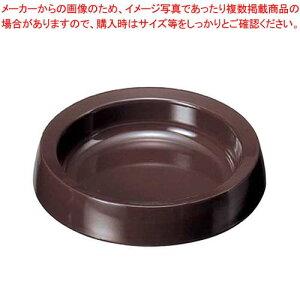 【まとめ買い10個セット品】 丸灰皿 DX DH-60 ダークブラウン【 卓上小物 】