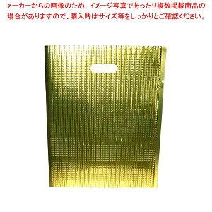 【まとめ買い10個セット品】 保冷・保温バッグ エスケークール ゴールド(10枚入)LC-M【 運搬・ケータリング 】