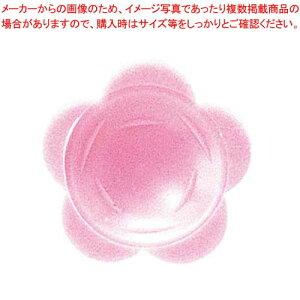 【まとめ買い10個セット品】 わさび皿(500枚入)花 ピンク【 厨房消耗品 】