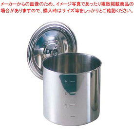 江部松商事 / EBM 18-8 キッチンポット/寸胴鍋(目盛付)14cm 手無【 ガス専用鍋 】