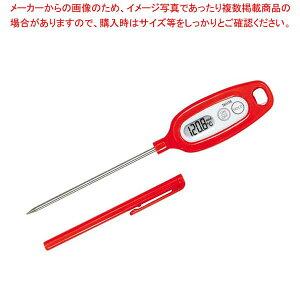 タニタ デジタル 温度計 TT-508NRD レッド