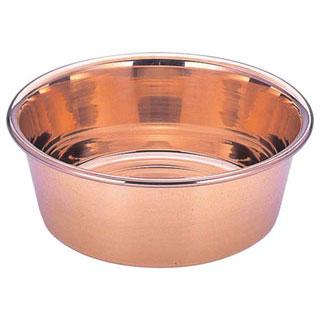 【洗い桶 銅 30cm】【 銅洗桶 30cm 】