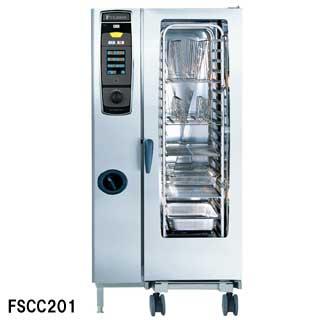 フジマック 業務用コンビオーブン FSCCシリーズ 電気式 FSCC201 W879×D791×H1782 【 メーカー直送/代引不可 】