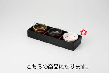 和食器 黒塗箱 三ツ切 35S096-33 まごころ第35集 【キャンセル/返品不可】