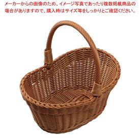 小判型 ピクニックバスケット 中 ブラウンPB-461-BR