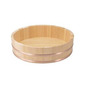 飯台(すし桶)さわら材 (銅タガ) 《外寸》 60cm