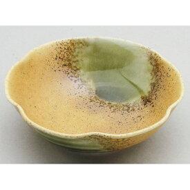 美濃焼(日本製)小鉢・松花堂 KY3-04 信楽風梅型小鉢