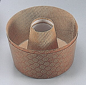 【 パール金属 】 アンテノア 紙製シフォンケーキ焼型17cm [ 2枚入 ] [ 耐油性・耐熱性に非常に優れた紙製です ]【 調理器具 厨房用品 厨房機器 プロ 愛用 】