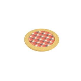 パール金属 ファントゥクック 丸型鍋敷15cm(オレンジ)