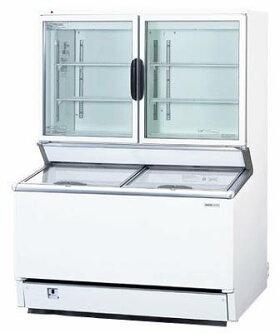 デュアル型冷凍ショーケースパノラミックシリーズSCR-D1203N