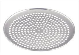 【まとめ買い10個セット品】TKG アルミ 穴明ピザパン 20cm