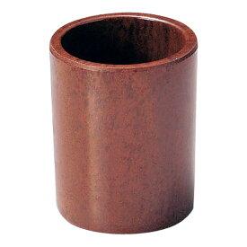 【まとめ買い10個セット品】樹脂製 楊枝立 丸 ブラウン M40-111