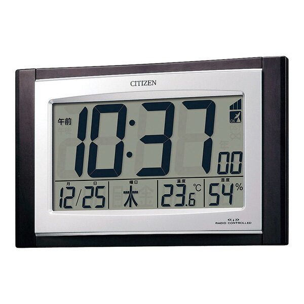 シチズン 掛置兼用電波時計 8RZ096-023