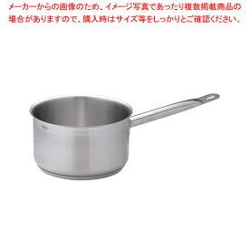遠藤商事 / TKG PRO(プロ)片手深型鍋(蓋無) 18cm【 片手鍋 】