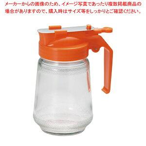 ガラス製 焼肉タレ入 250cc オレンジ【 調味料入れ 容器 ドレッシングボトル 】