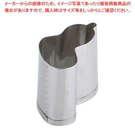 SA 18-8業務用 抜型 ひねり瓢箪 中【厨房用品 調理器具 料理道具 小物 】