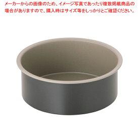 ブラック・フィギュア デコケーキ共底型 D-003 15cm【ケーキ型 焼き型 丸型】