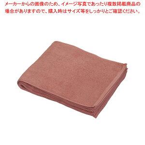 業務用フェイスタオル No.52200 (1袋1ダース入)エンジ【 タオル 】