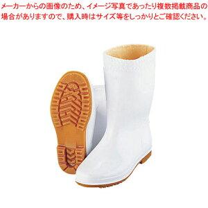 弘進 防寒ゾナ耐油長靴P 白 26cm (ウレタンパイルボア裏)【 長靴 】