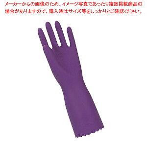 トーワ ソフトエース 厚手手袋 L バイオレット