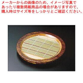 焼杉盆ざるN-81【料理演出用品そばうどん器ざるそば皿】