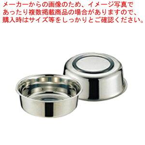 18-8湯桶 ゴム付【 洗面器 】
