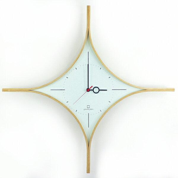 時計 DAIA CLOCK ライトブルー YK09-108