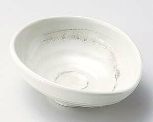 【まとめ買い10個セット品】和食器 ト044-137 粉引たまご型4.0小鉢【キャンセル/返品不可】
