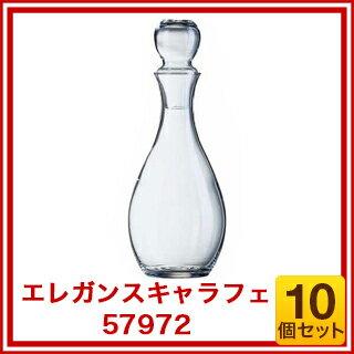 【まとめ買い10個セット品】『 デカンタ デキャンタ 』【 即納 】 アルコロック エレガンスキャラフェ ガラス製 57972