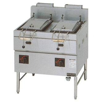 2口供业务使用的丸善煤气式餃子焼器本格派系列锅[MGZS-087WB]