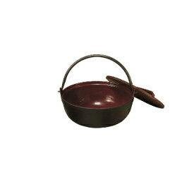 【まとめ買い10個セット品】中部コーポレーション トキワ 鉄 やまが鍋 401(茶ホーロー) 16cm(段無・敷台付)【 いろり鍋 いろり 囲炉裏鍋 やまと鍋 やまが鍋 田舎鍋 味噌汁 】