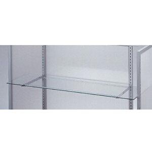 ガラス棚セットW120cm オーバーハングタイプ ガラス5mm厚 D20cm 【 システム什器 システムオプション スリット式システムオプションW120cm ガラス棚セットW120cm オーバーハングタイプ ガラス5mm厚