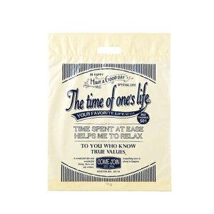 【まとめ買い10個セット品】アメリカンヴィンテージ ポリバッグ 25.5×36.5×底マチ6 2000枚【 店舗備品 包装紙 ラッピング 袋 ディスプレー店舗 】