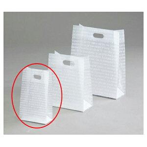 フロストバッグ(抜き手) 15×8×26 500枚【 店舗備品 包装紙 ラッピング 袋 ディスプレー店舗 】