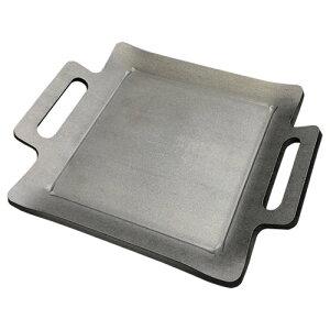 こだわりの極厚鉄板 国産 プロ仕様 ステーキ皿 プレート 鉄板焼き ホルモン お好み焼き [9mm厚]卓上コンロサイズ [TG99]