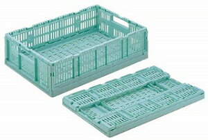 【まとめ買い10個セット品】卵パック用折りたたみコンテナ RS-M615 【メイチョー】