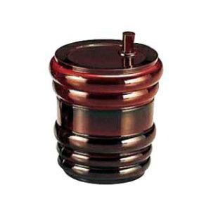 【まとめ買い10個セット品】ABS製 樽型 七味入 溜 82121000 【メイチョー】