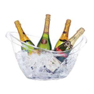 【まとめ買い10個セット品】ブッフェタブ オーバル AB-19【 ワイン ボトルクーラー おしゃれ カクテル ワインクーラー カクテルクーラー アイスクーラー おすすめ ワイン 冷やす バケツ 入れ