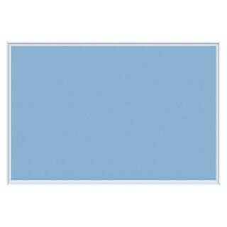 【まとめ買い10個セット品】壁掛け用ワンウェイ掲示板ブルーK23-7411枚馬印【メーカー直送/代金引換決済不可】【開業プロ】