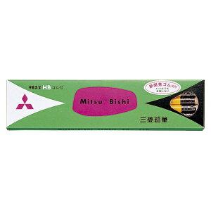 【まとめ買い10個セット品】 六角消しゴム付鉛筆 K9852HB 【メイチョー】